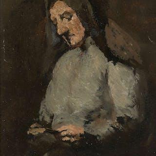 Théodule RIBOT, Théodule RIBOT Saint-Nicolas-d'Attez,1823 - Colombes