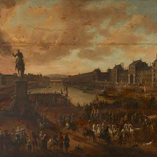 Ecole franco-flamande vers 1700, Ecole franco-flamande vers 1700 Le