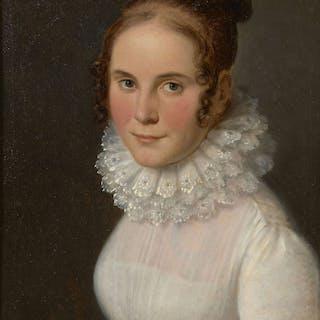 Ecole française vers 1815-1820, Ecole française vers 1815-1820 Portrait
