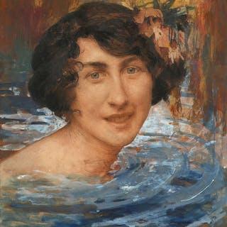 Edgard MAXENCE, Edgard MAXENCE Nantes, 1871 - La Bernerie,1954 Baigneuse