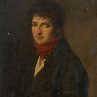 Ecole française vers 1790-1800, Ecole française vers 1790-1800 Portrait
