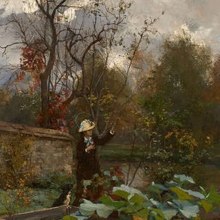Jules GIRARDET, Jules GIRARDET Paris, 1856 - Boulogne-Billancourt
