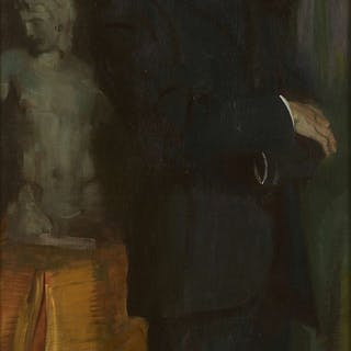 Hugo Ernst SCHNEGG, Hugo Ernst SCHNEGG Ansbach, 1876 - (?), 1950 Portrait