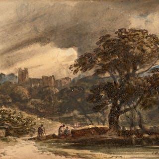 John VARLEY, John VARLEY Londres, 1778 - 1842 Paysage de la campagne