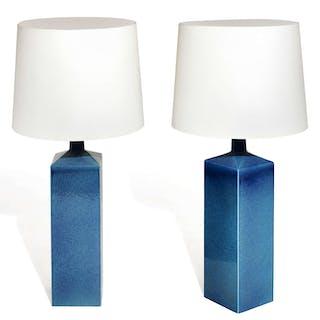 LE KLINT EDITEUR, LE KLINT EDITEUR Paire de lampes de table - Circa 1960