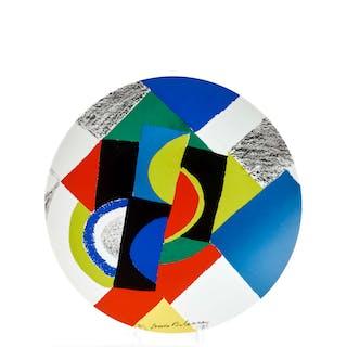 Sonia DELAUNAY, Sonia DELAUNAY 1885 - 1979 Rythmes circulaires - 1981
