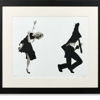 Robert LONGO, Robert LONGO Né en 1953 Dancing couple - 1996