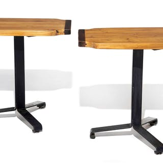 Charlotte PERRIAND, Charlotte PERRIAND 1903 - 1999 Paire de tables