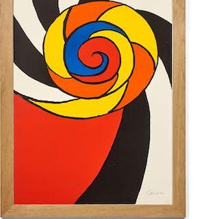 Alexander CALDER, Alexander CALDER 1898 - 1976 Turban - 1969