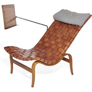 Bruno MATHSSON, Bruno MATHSSON 1907 - 1988 Chauffeuse mod. Easy chair