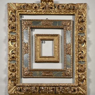 Espagne, XVIe-XVIIe siècle, Espagne, XVIe-XVIIe siècle Rare cadre