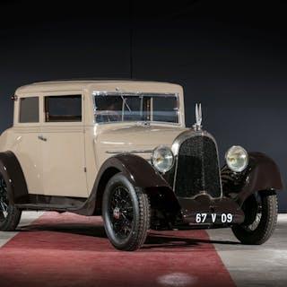 1926 Voisin C4 S coach, 1926 Voisin C4 S coach No reserve
