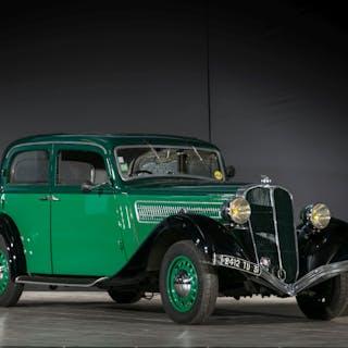 1936 Salmson S4D Berline, 1936 Salmson S4D Berline No reserve