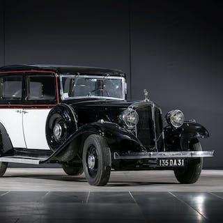 1933 Renault Primastella (PG8) Berline, 1933 Renault Primastella (PG8)