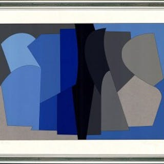 Blaue Komposition (Siris Kek), 1953