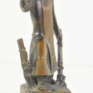 """Bronzefigur """"Griff nach der Freiheit"""",Verband der..."""
