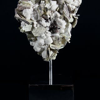 Mounted Mica and Calcite