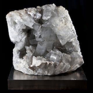Rare large Gypsum cluster