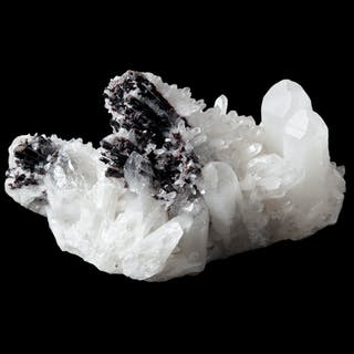 Quartz and Sphalerite