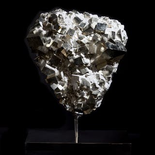 Exceptional Pyrite Cluster