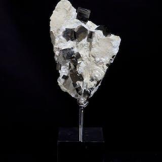 Navajun Pyrite Cluster