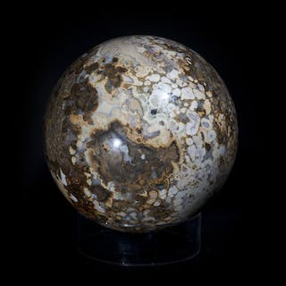 Large Poppy Jasper Sphere