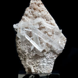 Exceptional Gypsum 'Blade' Cluster