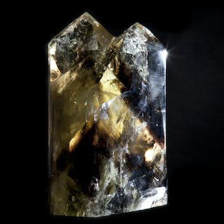 Citrine Quartz Double Point