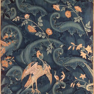 Feuille de choux with birds