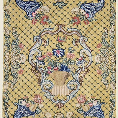 Needlework carpet