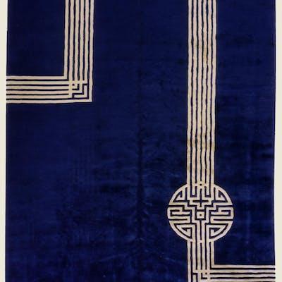 Chinese Art Déco carpet
