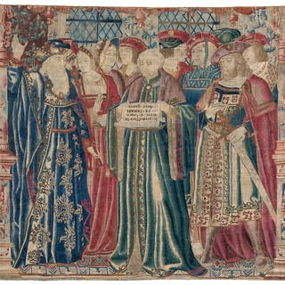 Courtly Scene