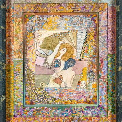 Jim Amaral - Kaleidoscope imaginary manuscript: Listen to the knell