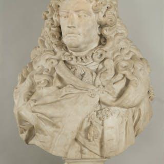 Antoine Coysevox, attributed to_Presumed Bust of duc de Boufflers