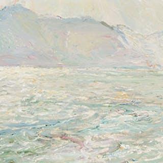 Rough Waters, Kootenay Lake - Frederick Horsman Varley
