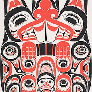 Haida Beaver Tsing - William Ronald (Bill) Reid
