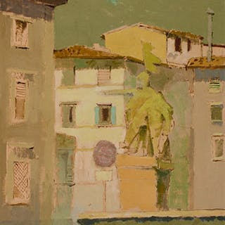 Little Square, Florence - John Richard Fox