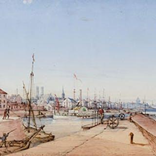 Montreal, Harbor Scene - James D. Duncan