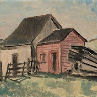 Rural Buildings - Stanley Morel Cosgrove