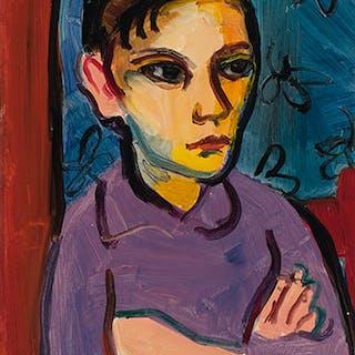 Portrait d'une jeune fille - Jori (Marjorie) Smith