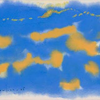 Blue Abstract - Paul Vanier Beaulieu