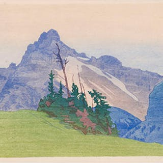 The Mountain - Walter Joseph (W.J.) Phillips