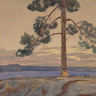 Looking Towards Keewatin Beach, Lake of the Woods - Walter Joseph