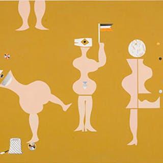 Jugglers - Florence Gertrude Vale