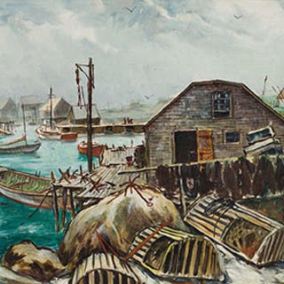 Peggy's Cove, NS - Jack Lorimer Gray
