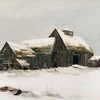 Old Barn Near Washago, Ont. - Arto Yuzbasiyan