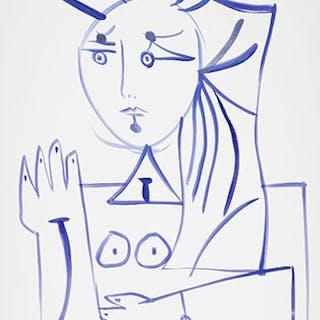Portrait de femme - René Marcil