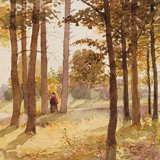 Autumn Sunshine - James Edward Hervey (J.E.H.) MacDonald