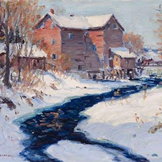 Mill at Cannington, Ont. - Manly Edward MacDonald
