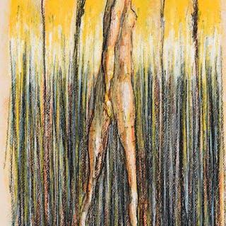 Nude with Flower - Miller Gore Brittain